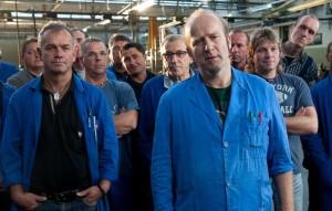 Axel Fischer und Berthold Biesinger als Facharbeiter im Film.