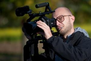 Sebastian Lempe erstellt das Making of.