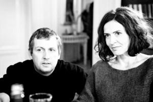 Regisseur Hannes Stöhr mit Ulrike Folkerts (Marianne Bogenschütz).
