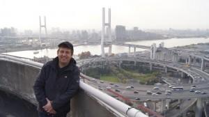 Regisseur Hannes Stöhr in Shanghai.